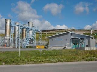 Электростанция на свалке