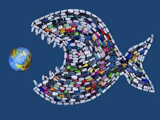 Пластиковая проблема охватывает все больше стран